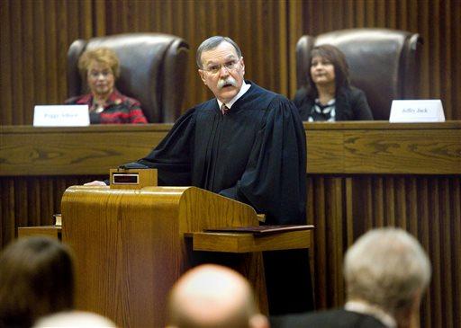 Kansas State of the Judiciary_113112