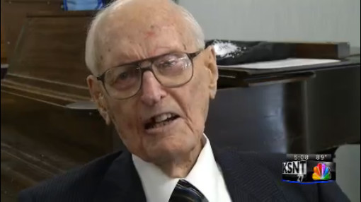 Bill Wetmore, Oldest Man in Kansas, Kansan_137200