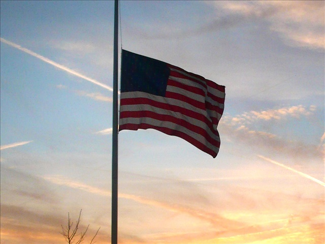 half-staff, flags lowered_150586