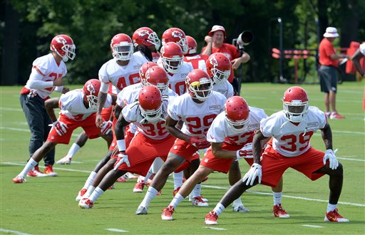 Chiefs Camp Football_143814