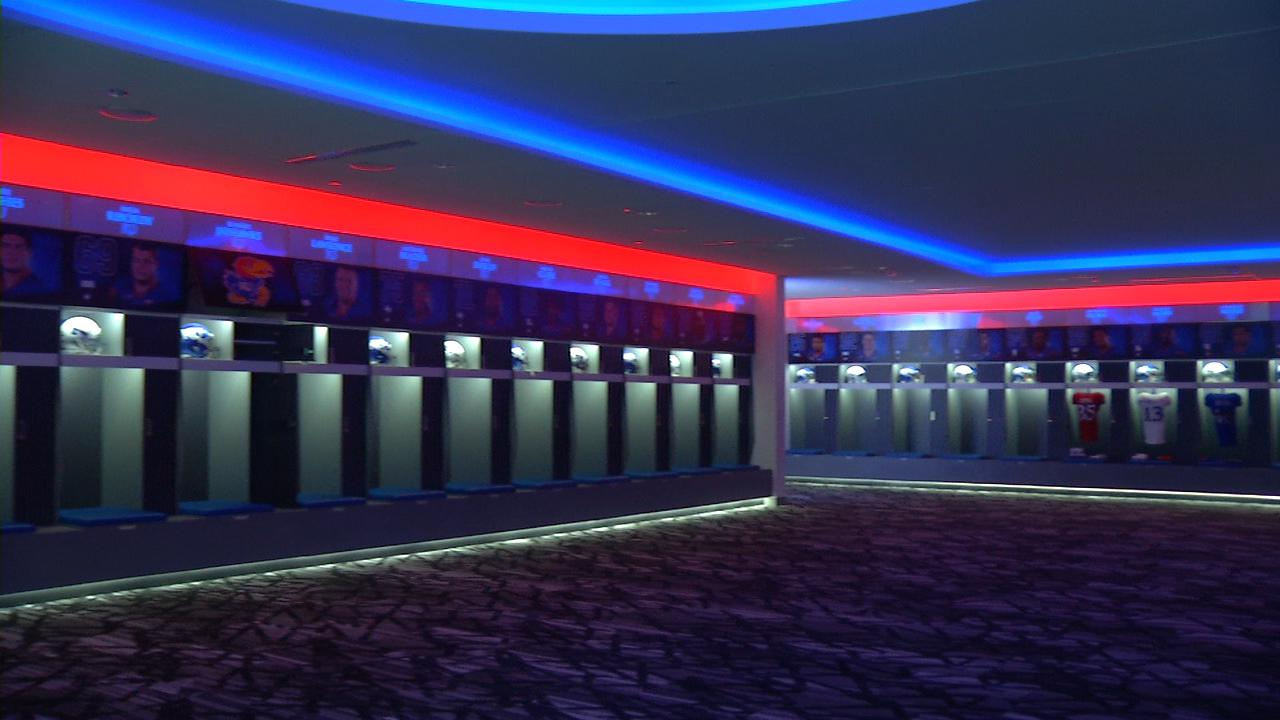 Kansas locker room_222962