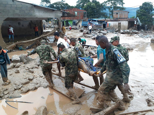 Colombia Deadly River Overflow_267635
