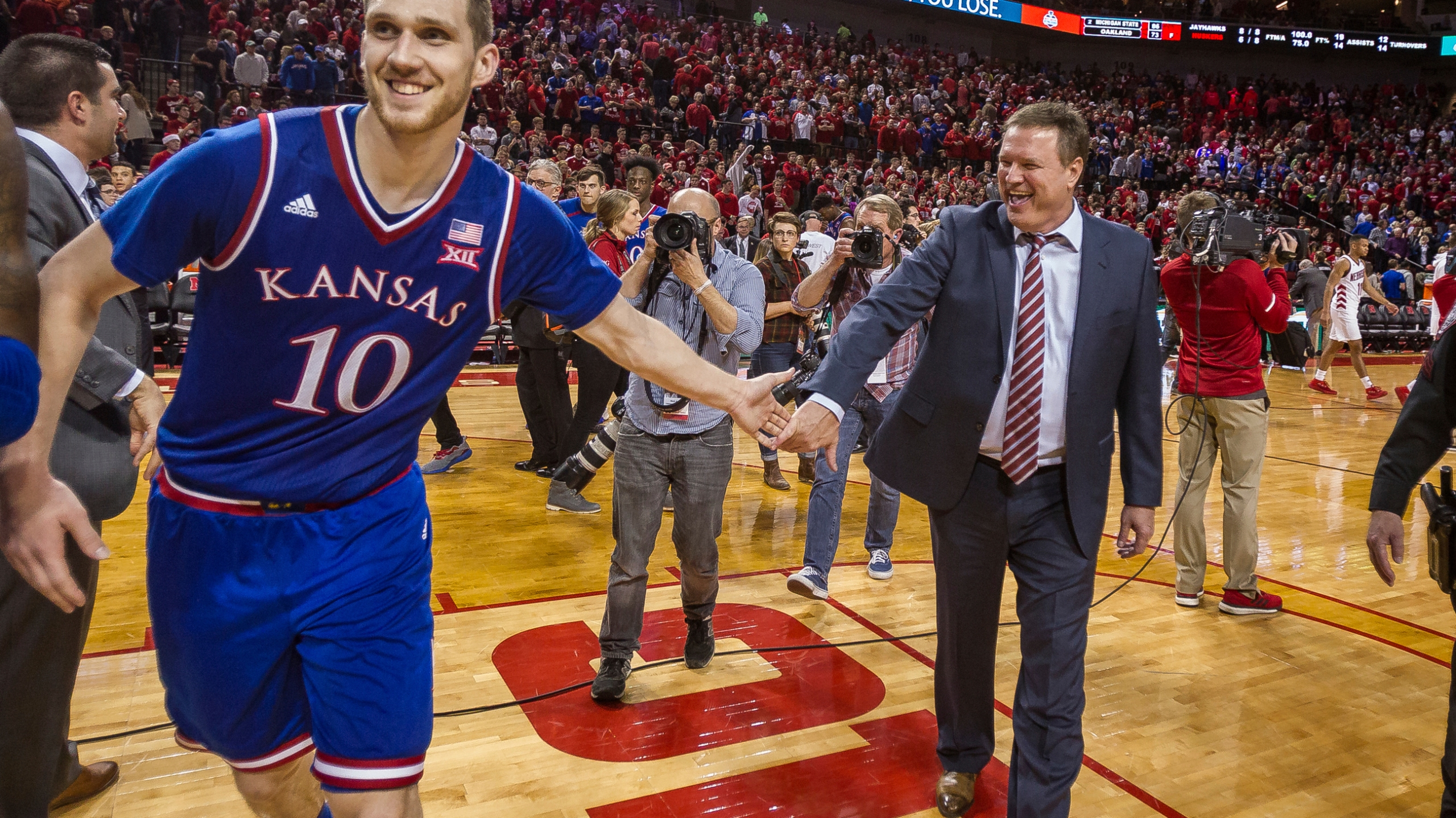 Bill Self, Sviatoslav Mykhailiuk_372232