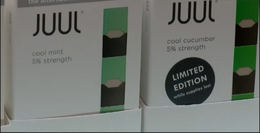 Juul devices becoming popular among older people