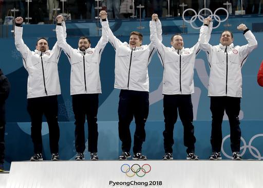 Pyeongchang Olympics Curling Men_402266