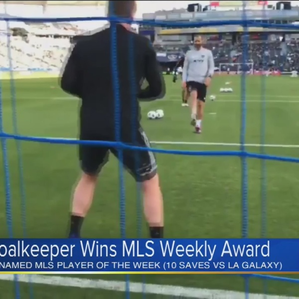 Sporting KC player named MLS Player of the Week
