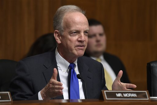 Moran disagrees with Trump's remarks on Democratic lawmakers