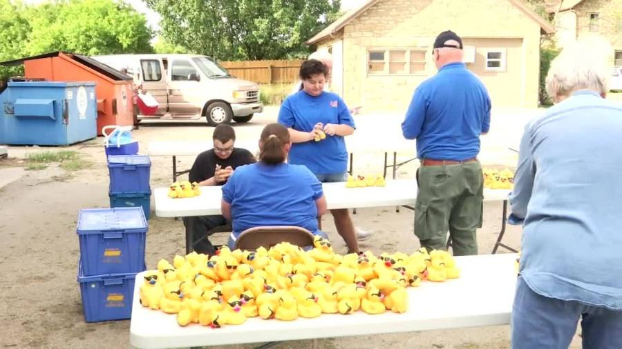 Great Topeka Duck Race