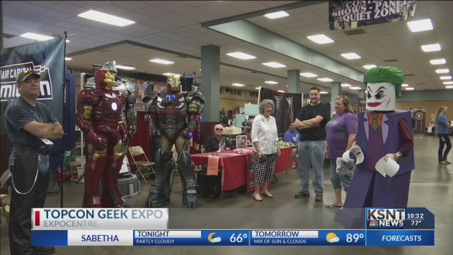 TopCon Pop Expo returns bigger than ever this weekend