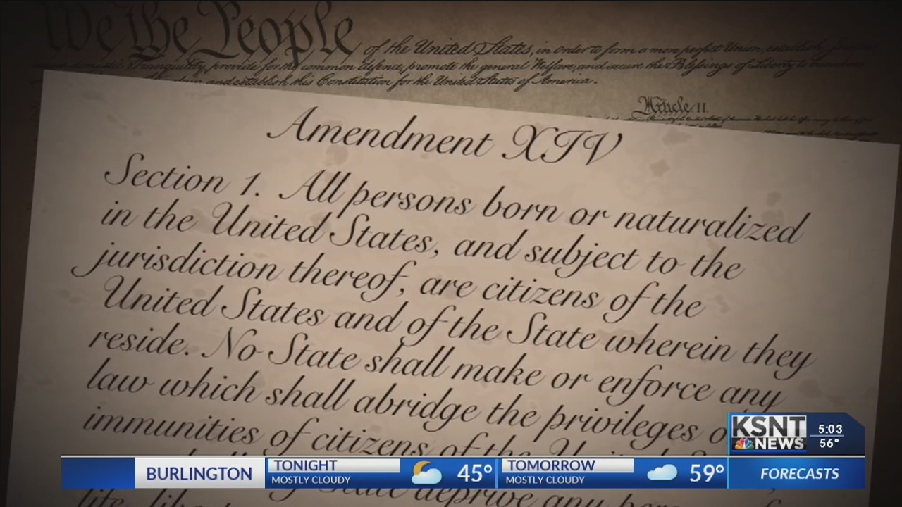 Local experts doubtful President Trump's executive order can reverse 14th amendment