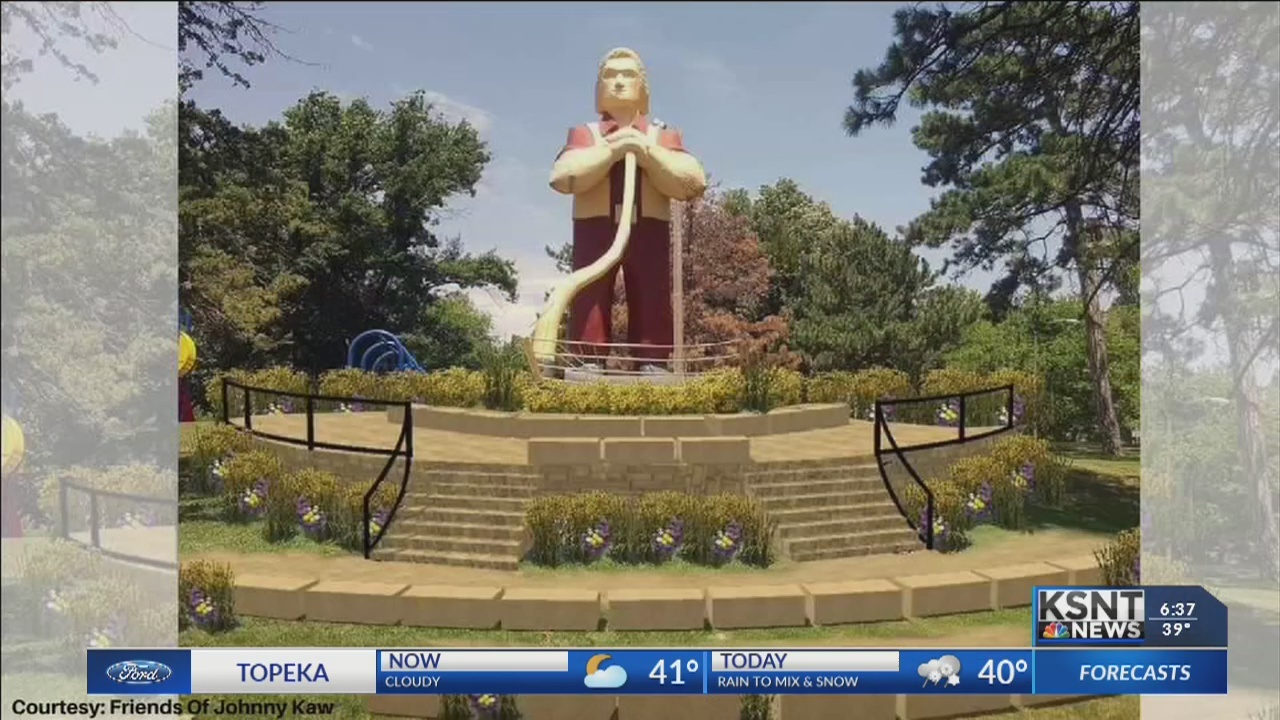 Construction will soon begin on new Johnny Kaw plaza in