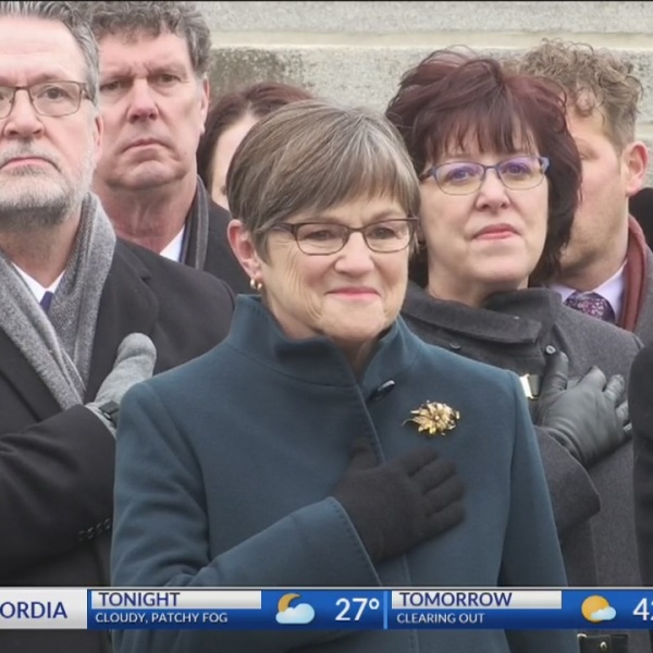 Laura Kelly becomes Governor