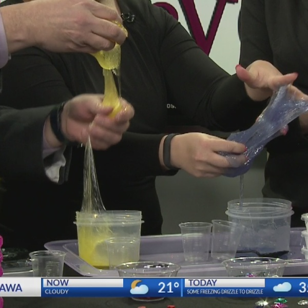 HANDS ON: Sweetheart Slime with the Kansas Children's Discovery Center