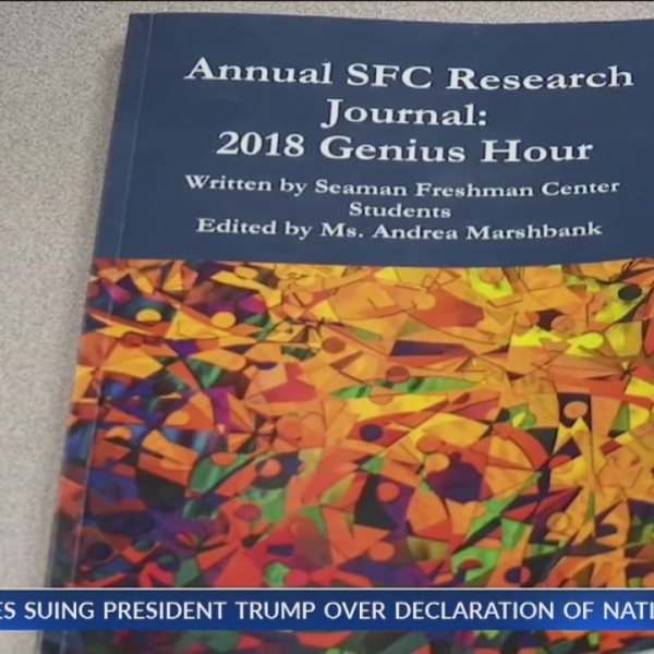 Seaman High students publish research journal