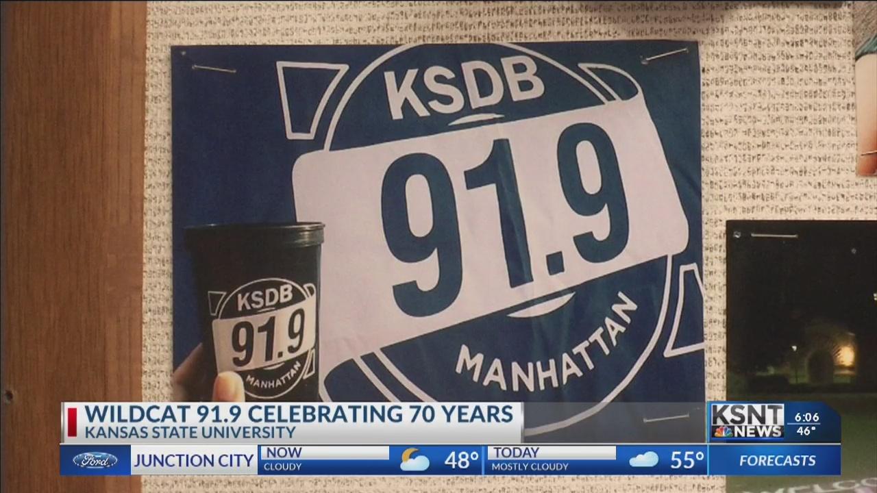 KSDB 91.9 celebrating 70 years at K-State