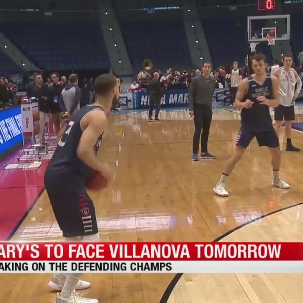 St. Mary's to face Villanova on Thursday