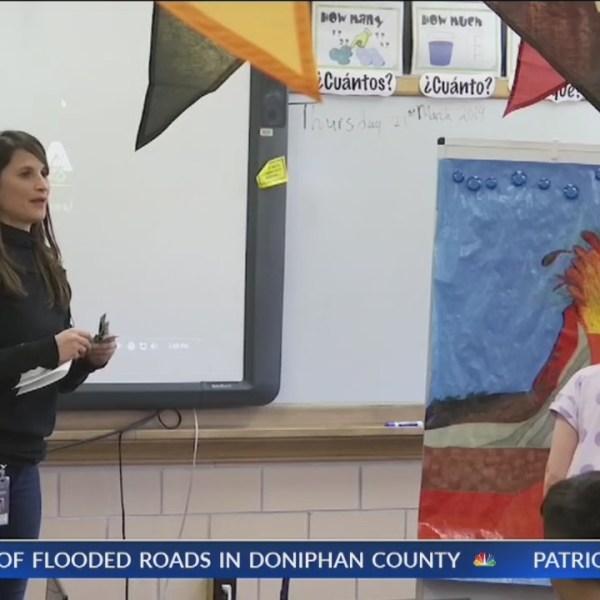 Teacher leaves home in Spain to teach in Topeka