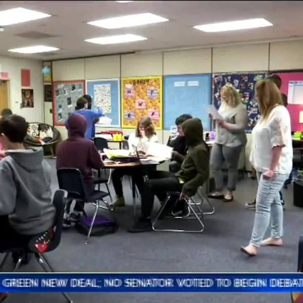 Topeka teacher takes step back from traditional teaching