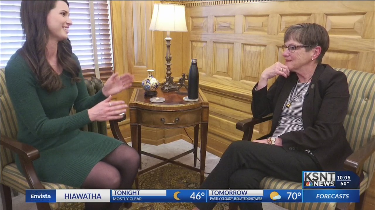 Governor Kelly marks 100 days in office