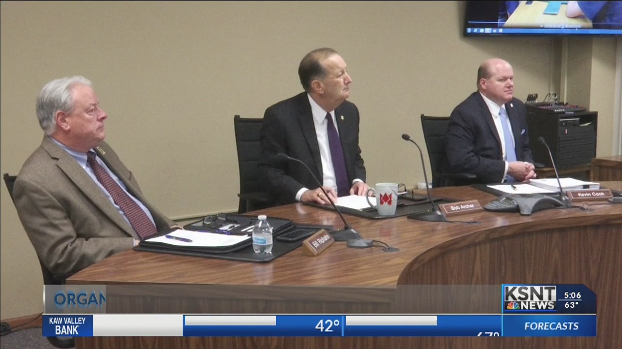 Shawnee County Commission honors organizations