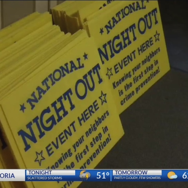Topeka neighborhoods hold for first National Night Out meeting of year