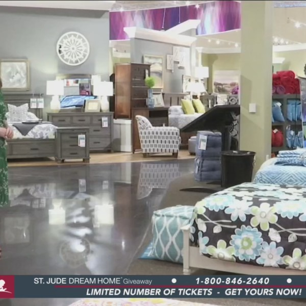 Local St. Jude patient decorates Dream Home room