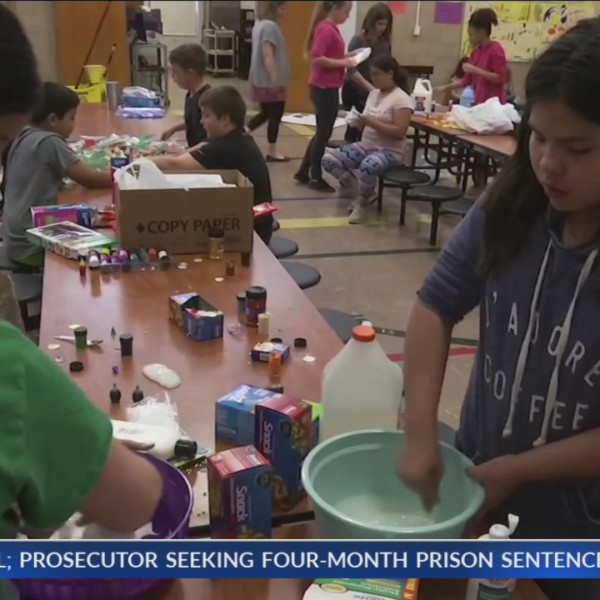 Local students make products to sell to classmates