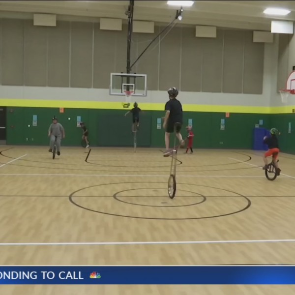 McEachron Elementary unicycles