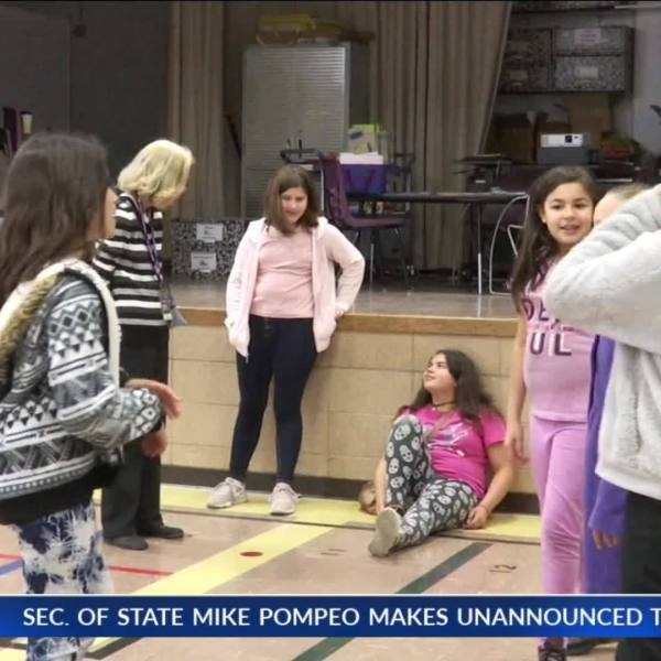 Quincy Elementary para teaches kids life lessons on their way to middle school