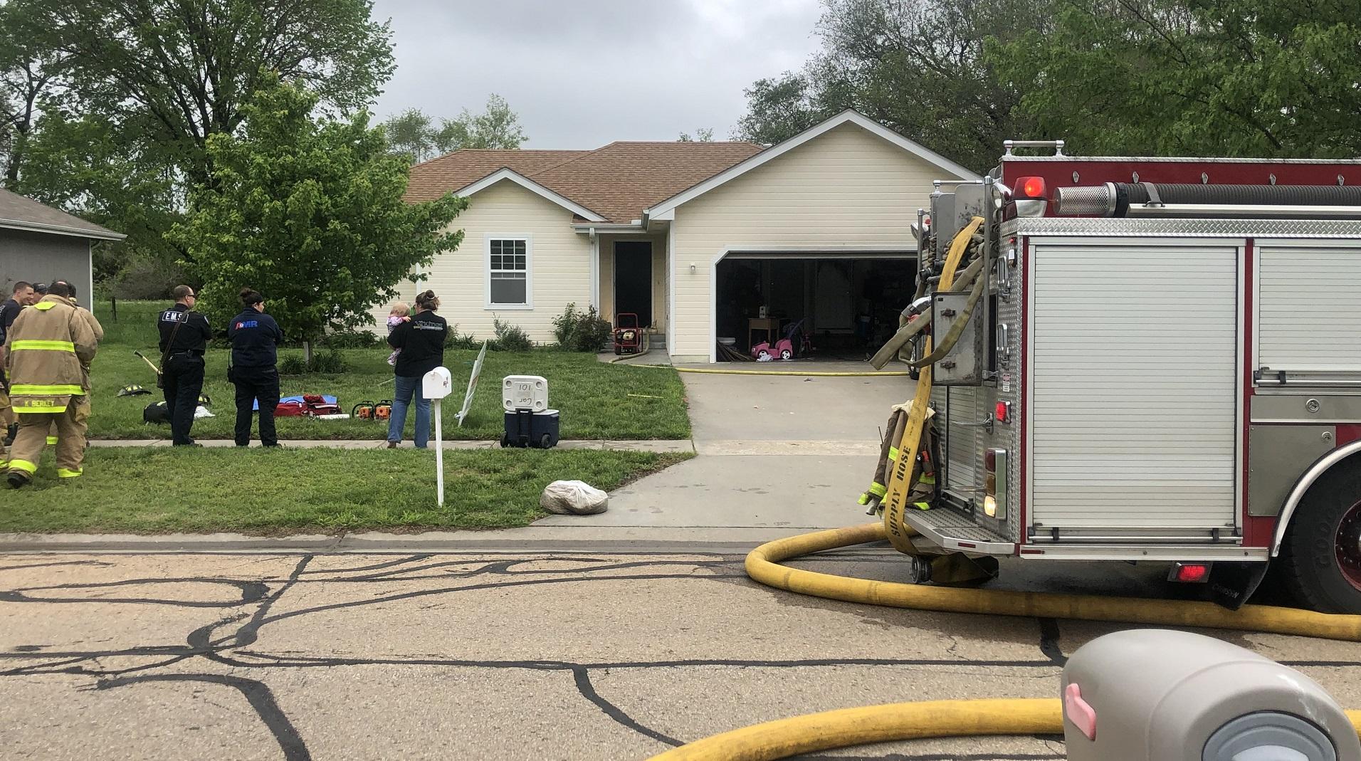 Aspen Lane house fire