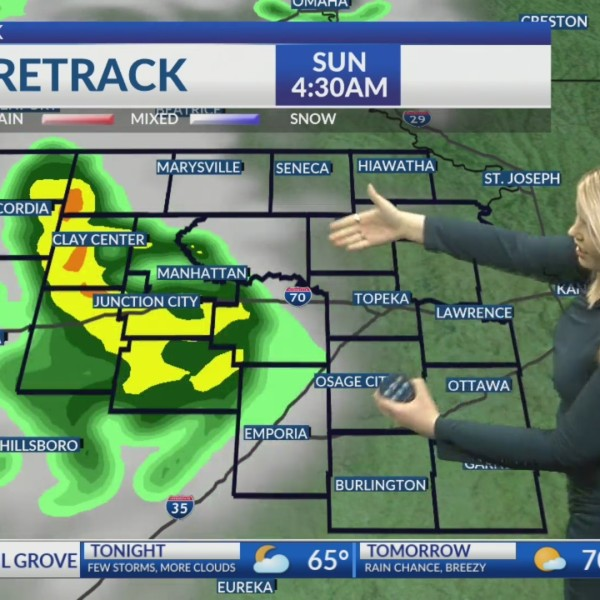 Saturday PM KSNT Weather Update
