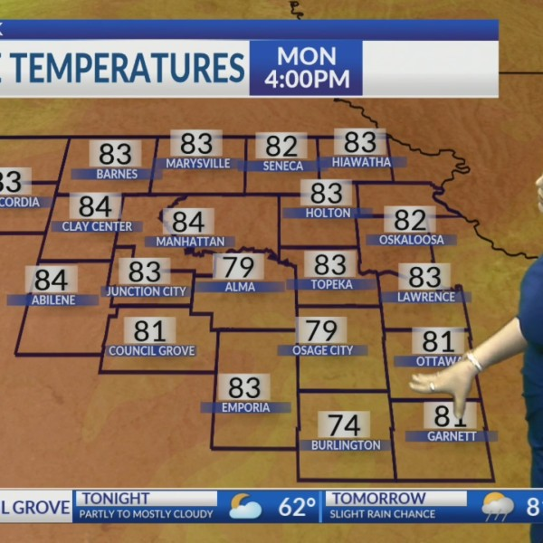 Sunday PM KSNT Weather Update