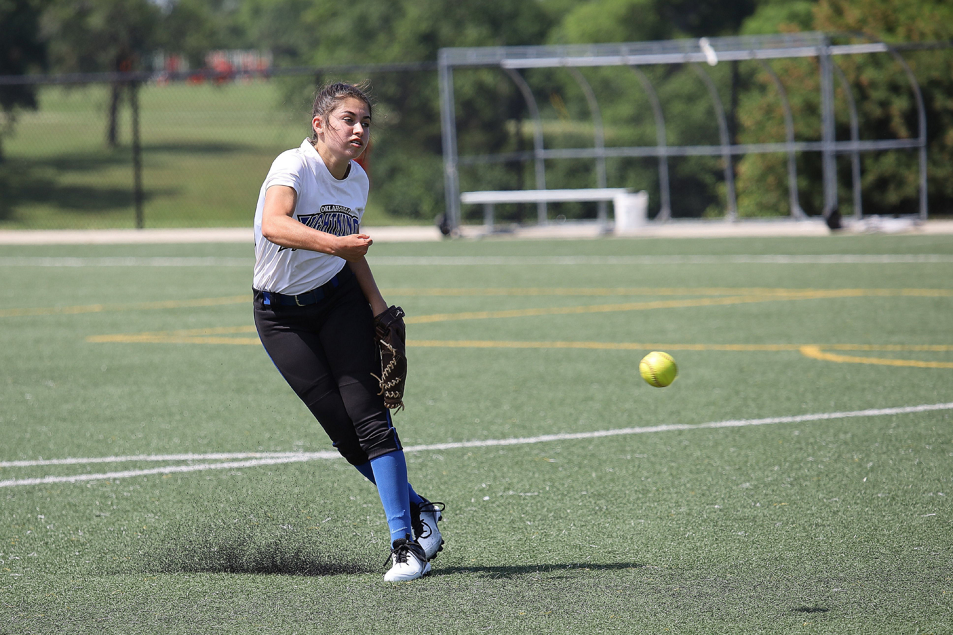 Fastpitch Softball Teams play for a National Championship at Lake Shawnee