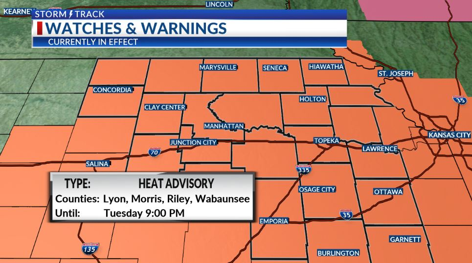 Dangerous combination of heat and mugginess, but cooler temperatures are coming
