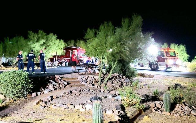 44 Kansas hikers rescued from Arizona desert