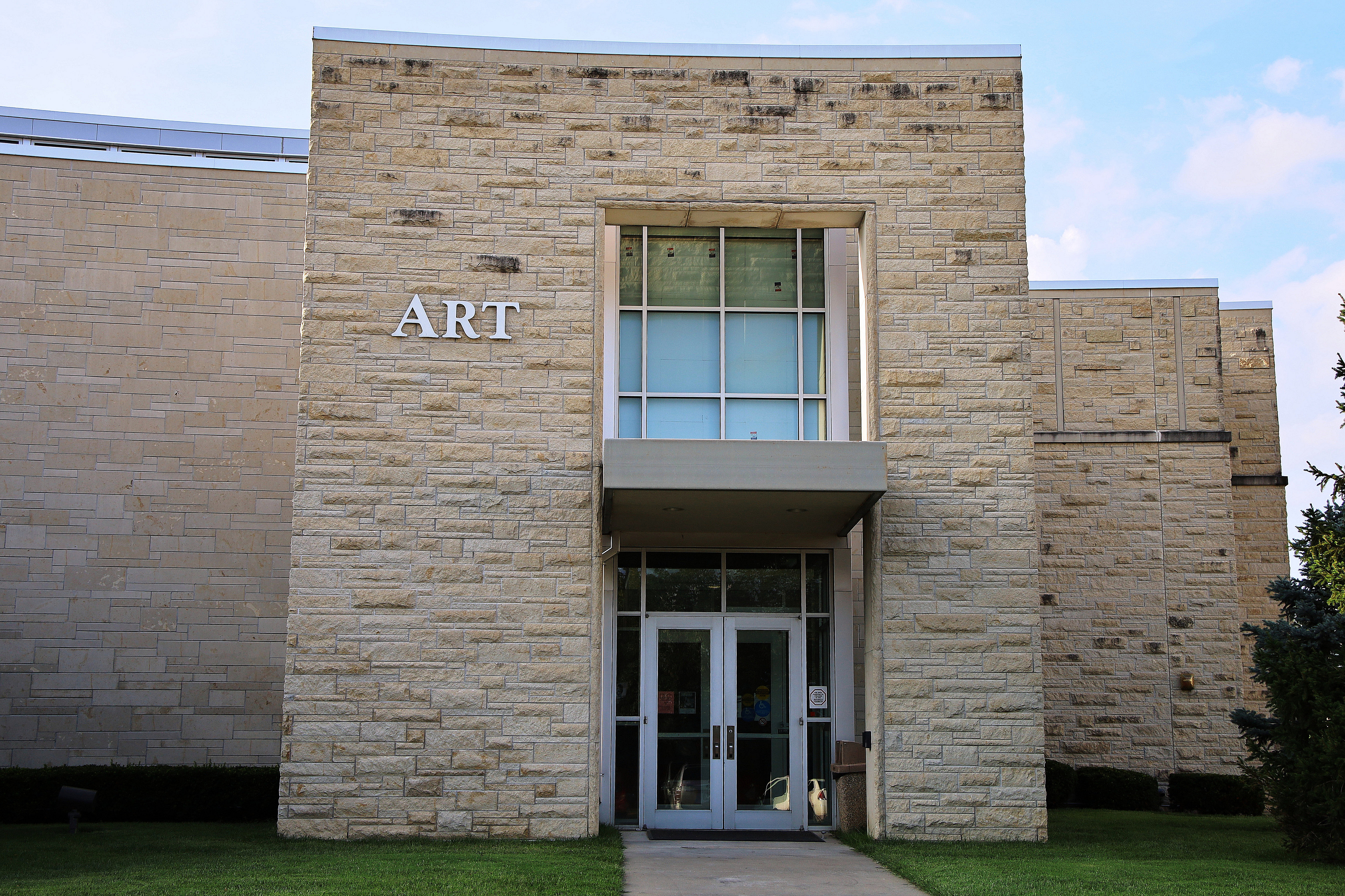Through A Glass Darkly, a Washburn University Senior Art Exhibit