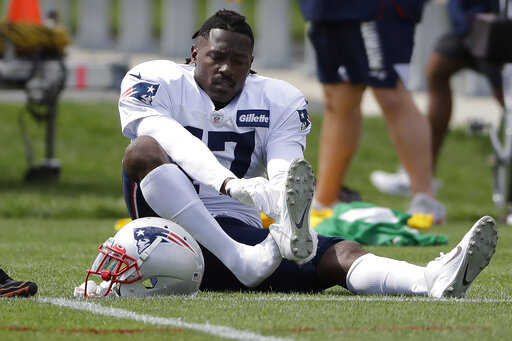 Pats' Brown not distracted by sexual assault accusations