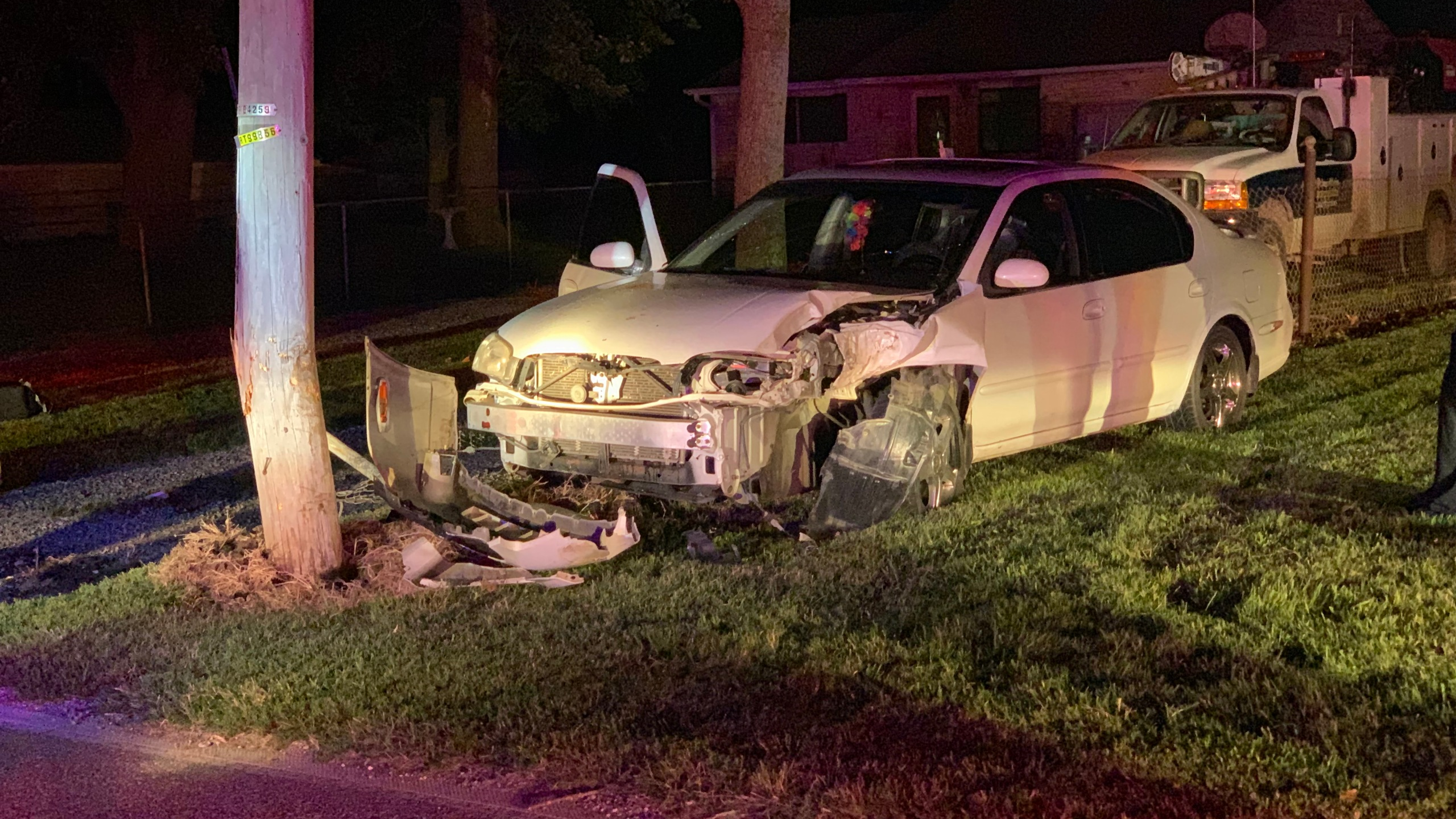High speed chase in north Topeka ends in crash | KSNT News