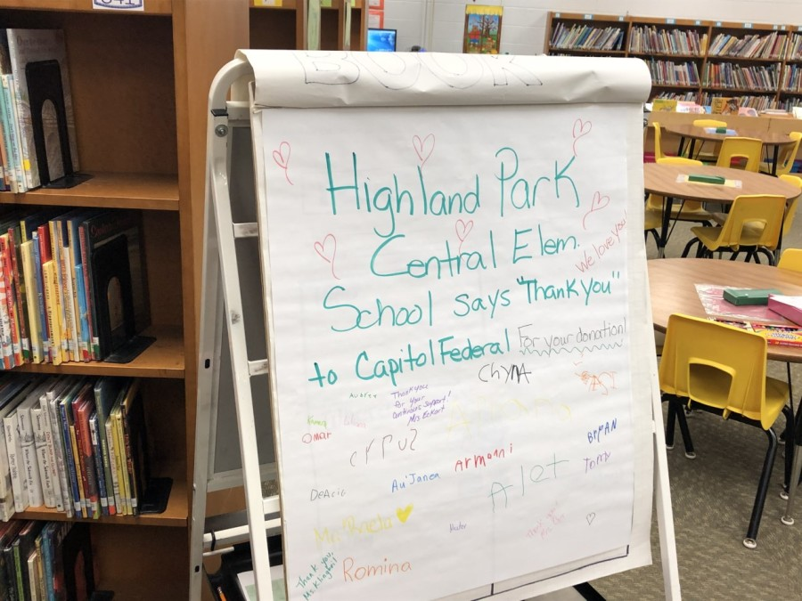 Capitol Federal renews decades-long partnership with Topeka elementary school