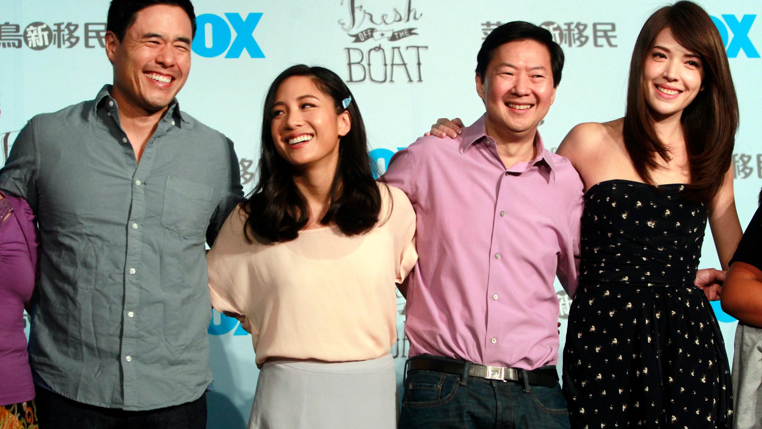 Randall Park, Constance Wu, Ken Jeong, Ann Hsu