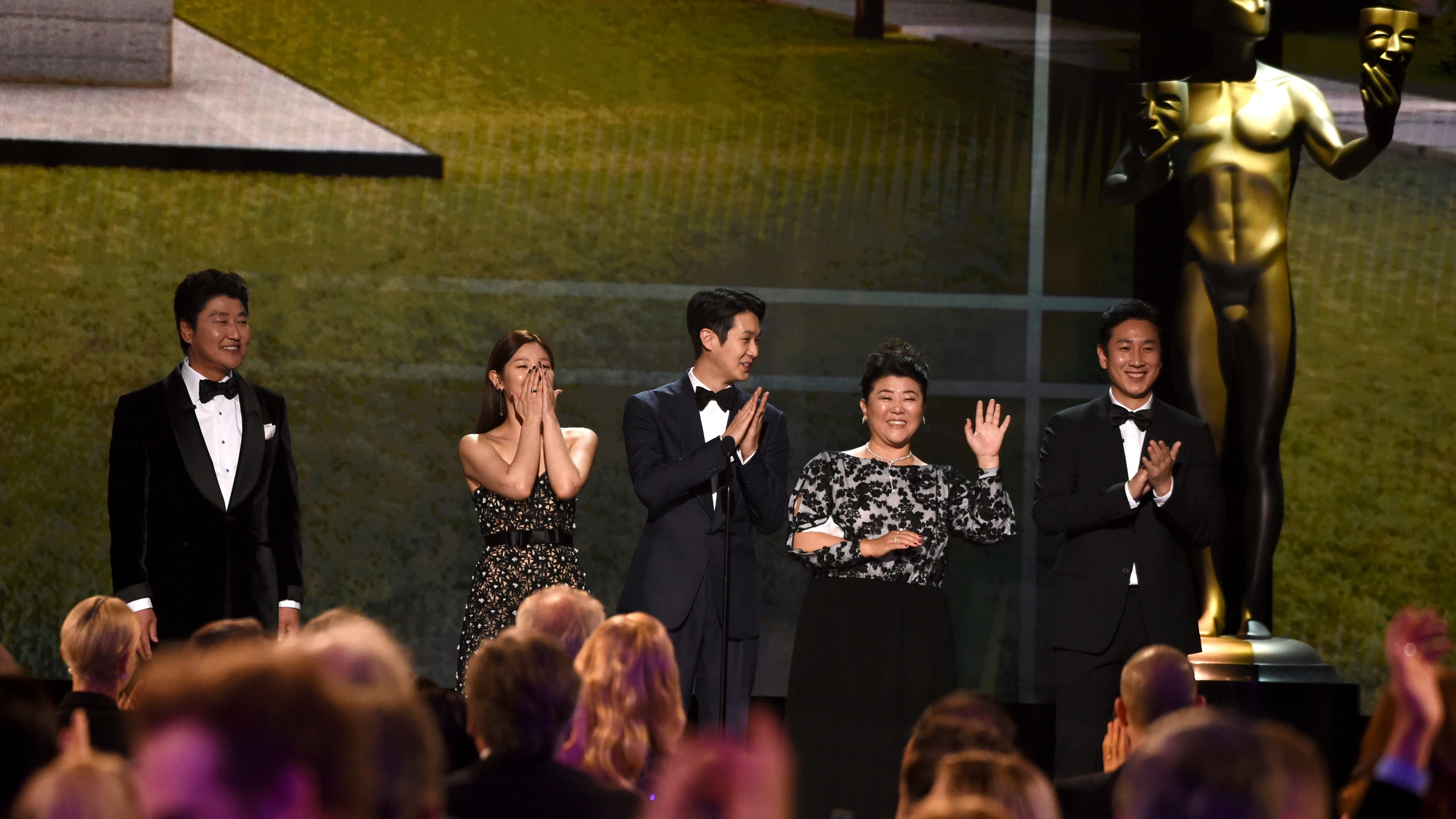 Kang-Ho Song, Park So Dam, Choi Woo-shik, Lee Jeong-eun, Lee Sun Gyun