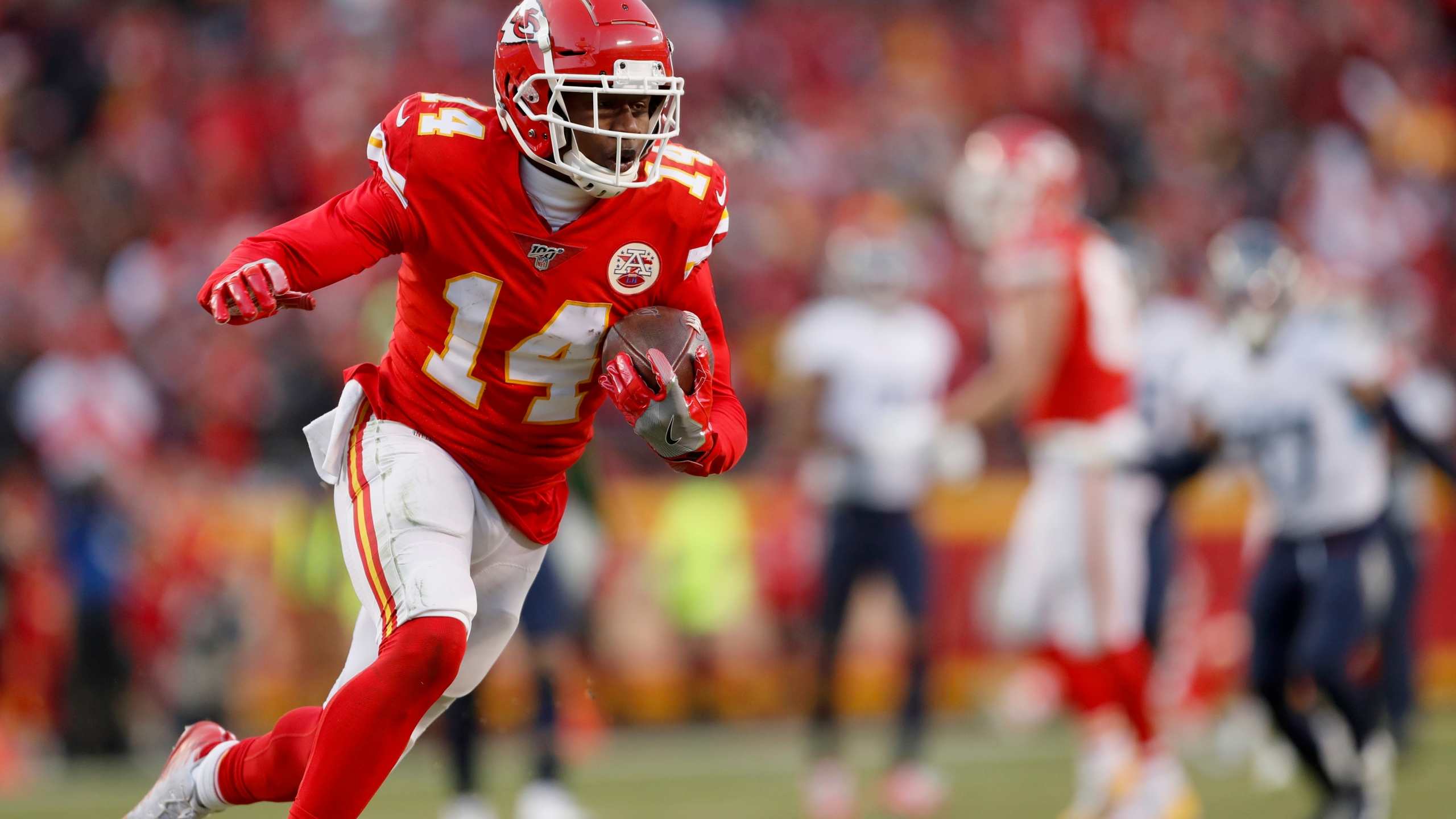 Watkins Gay Jr Out Sunday Vs Browns Edwards Helaire Questionable