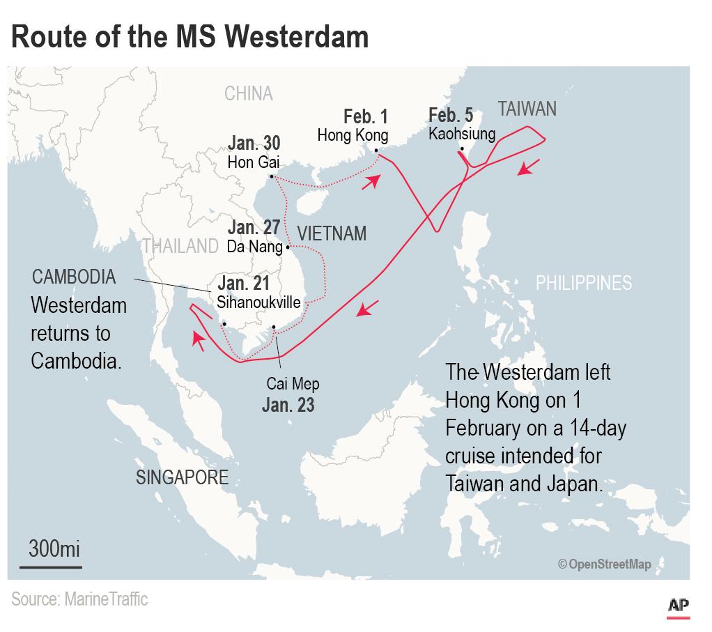 Cruise Ship Barred