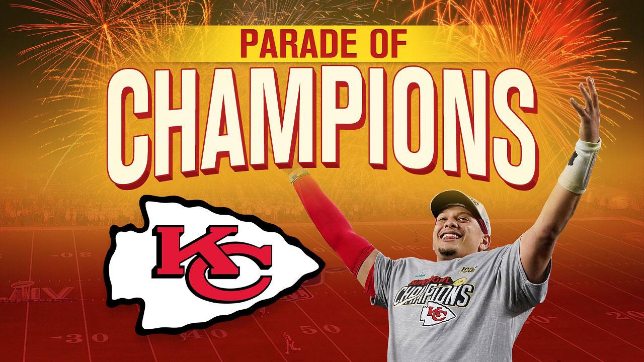 Emporia Kansas Christmas Parade 2020 Ksnt Kansas City Chiefs celebrate Super Bowl win with Parade of
