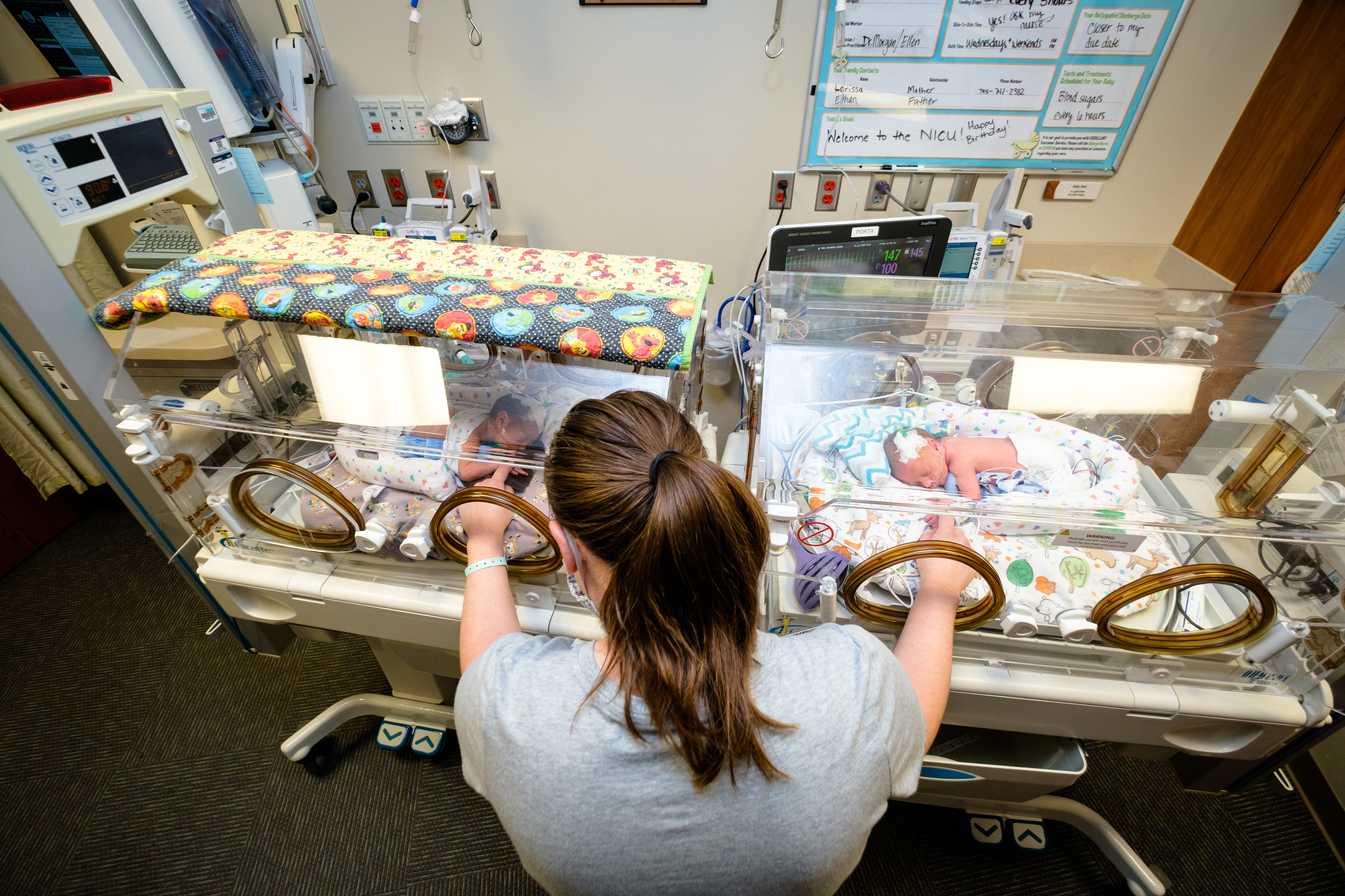 Stormont Vail sees baby boom of multiples