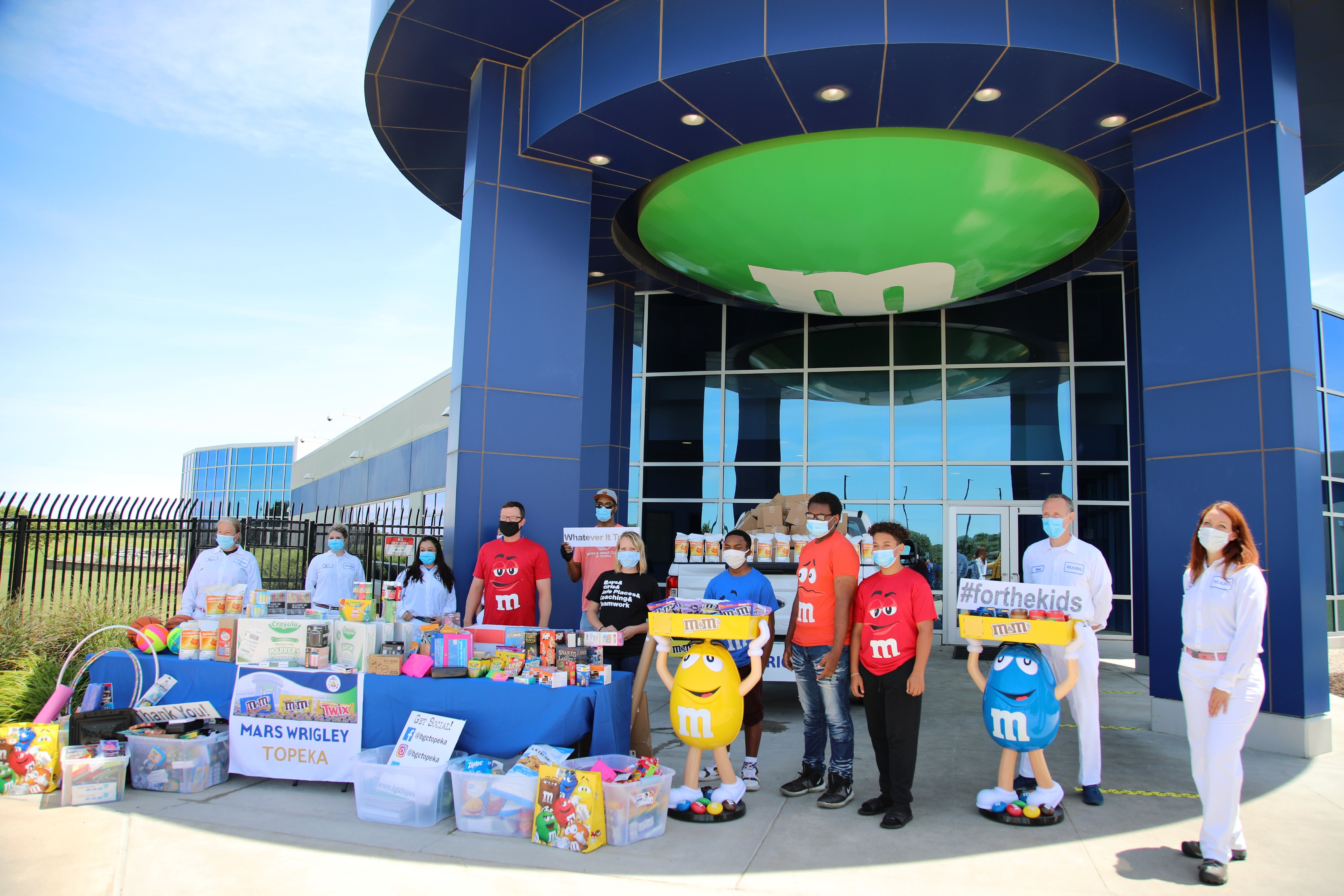 Boys & Girls Club of Topeka 'stuffing the bus' for kids