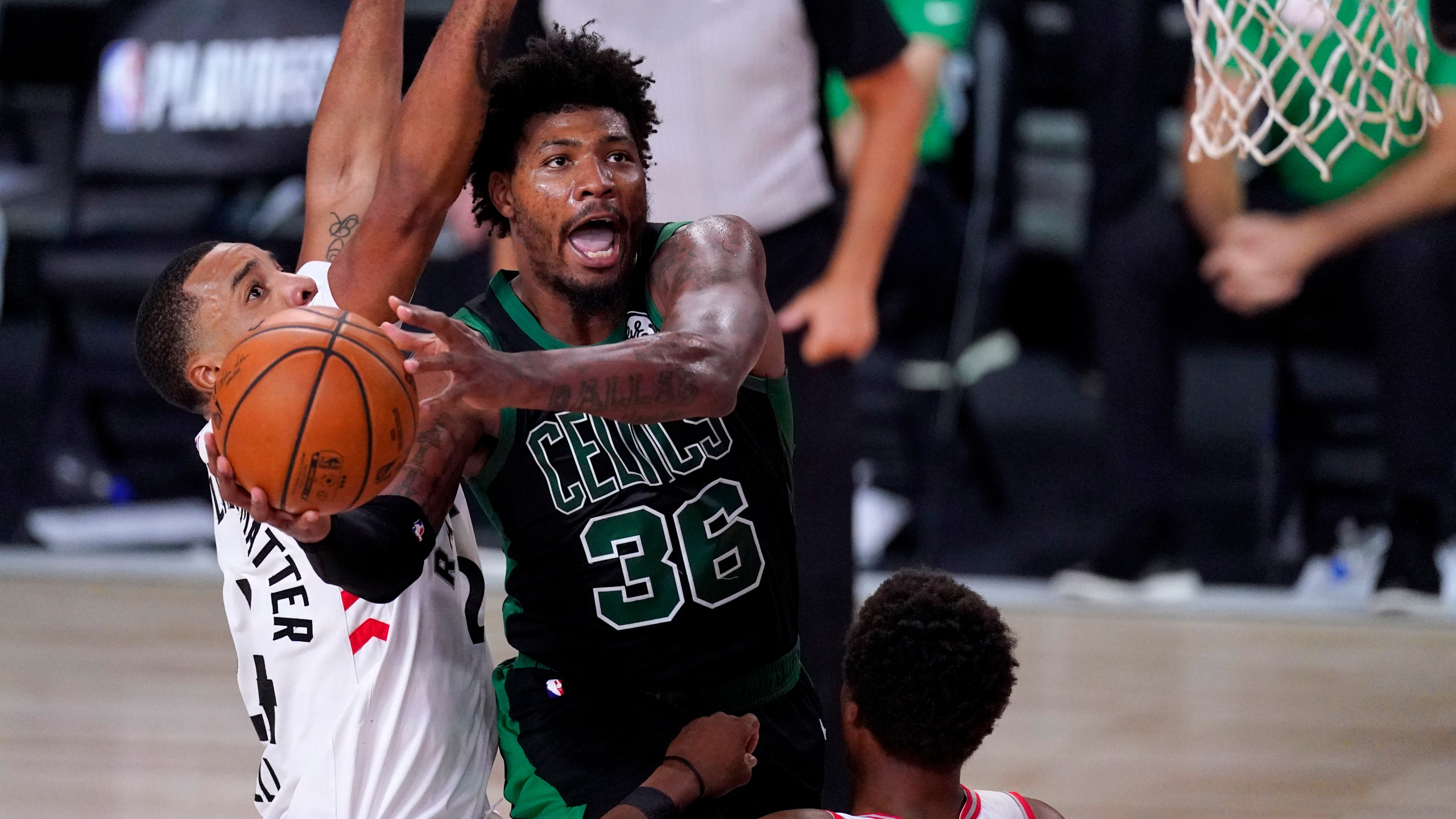 Celtics Oust Raptors In Game 7 Head To East Finals Vs Heat Ksnt News