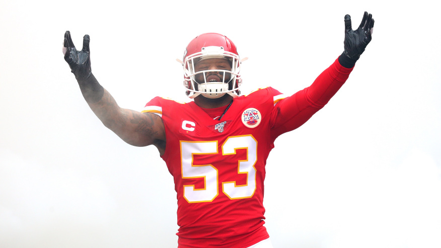 Chiefs linebacker Anthony Hitchens placed on COVID-19 list | KSNT News