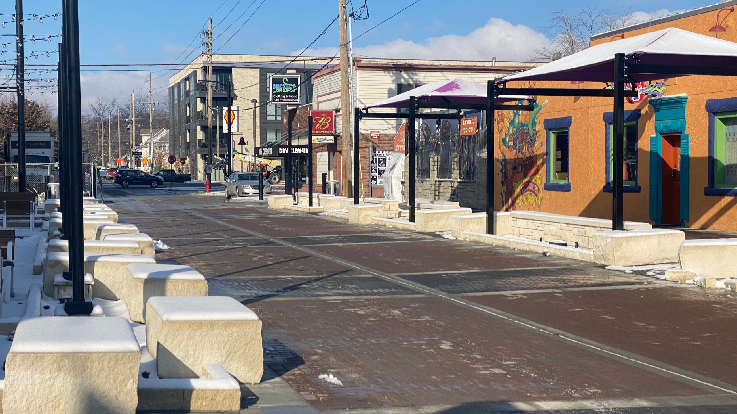 Aggieville Improvements 2021