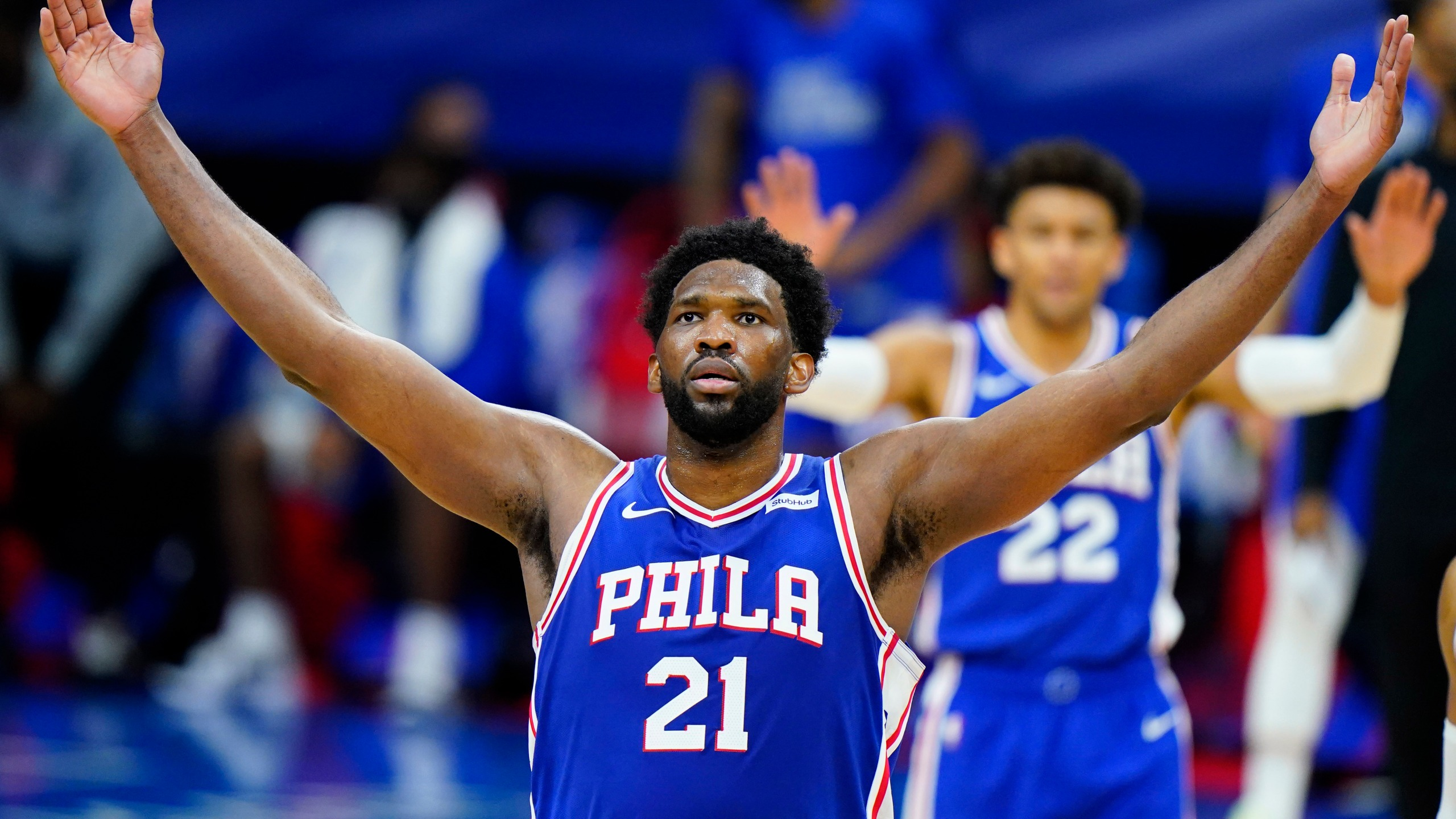 Embiid emerges as NBA MVP front-runner for East-best 76ers | KSNT News